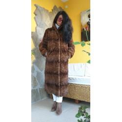 кожено палто визон-норка,кожух естествена кожа