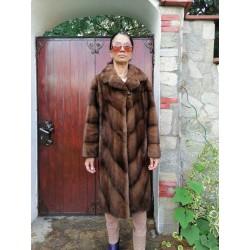 палто норка визон, кожено палто, кожух